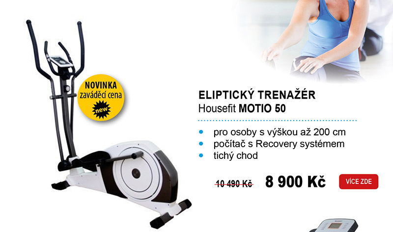 Eliptický trenažér Housefit MOTIO 50