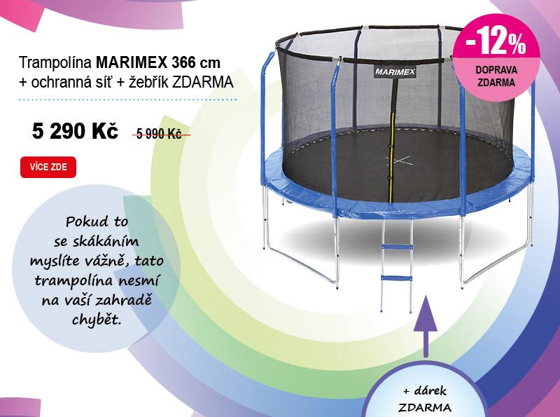 Trampolína Marimex 366 cm