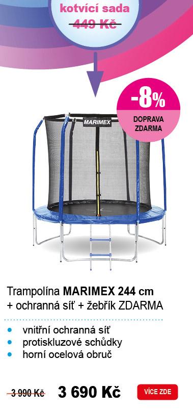 Trampolína Marimex 244 cm