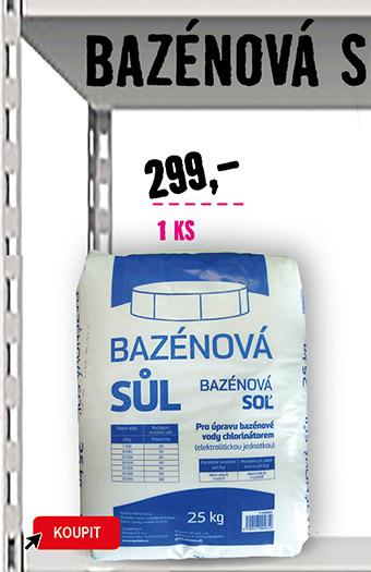 Bazénová sůl 25 kg
