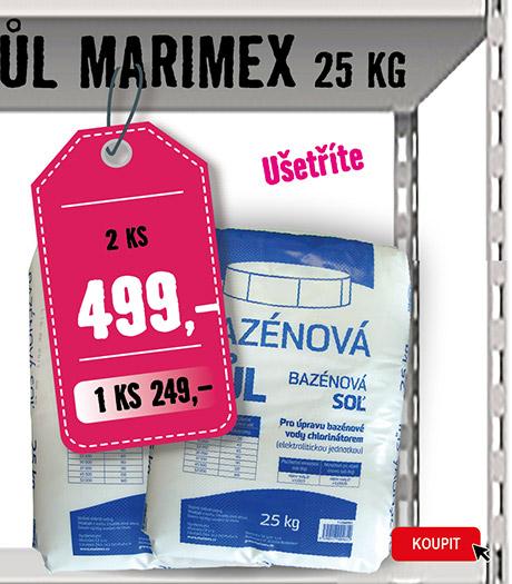 bazénová sůl 25 kg 2 ks