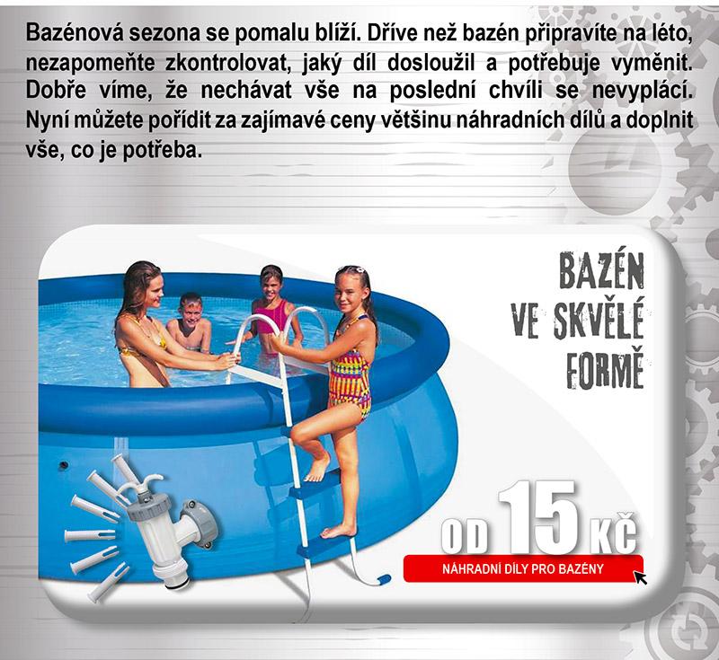 Náhradní díly pro bazény
