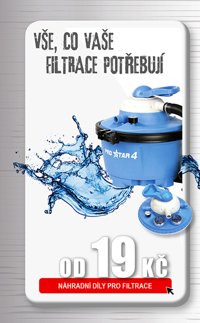 Náhradní díly pro bazénové filtrace