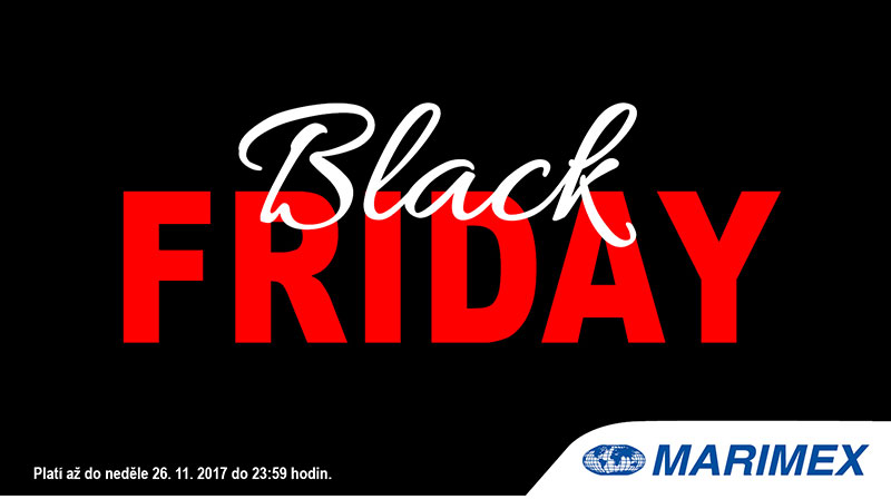 Black Friday do neděle 26. 11. 2017