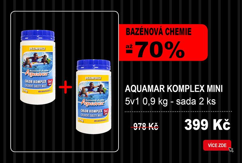 Bazénová chemie Aquamar Komplex Mini